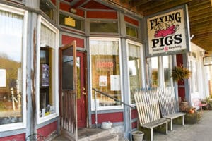 Flying Pig Restaurant Breakfast Thomas West Virginia